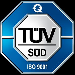 Tüv Süd Zertifikat ISO 9001